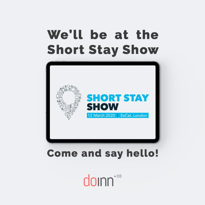 We'll Be At The Short Stay Show