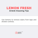 Airbnb Cleaning - Lemon Fresh