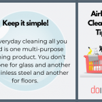 Airbnb Cleaning - Keep It Simple