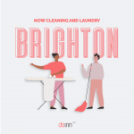 Airbnb cleaning in Brighton laundry linen rentals