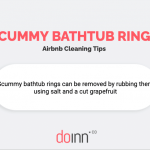 Airbnb cleaning - Scummy bathtub rings