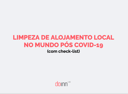 Limpeza de Alojamento Local no mundo pós Covid-19 (com check-list)